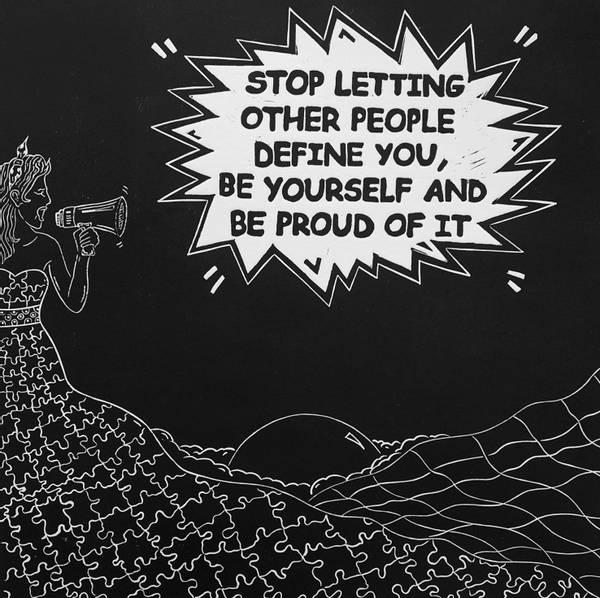 Bilde av Be yourself